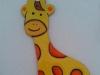 Giraffa in ceramica