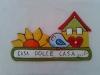Casa dolce casa con girasoli