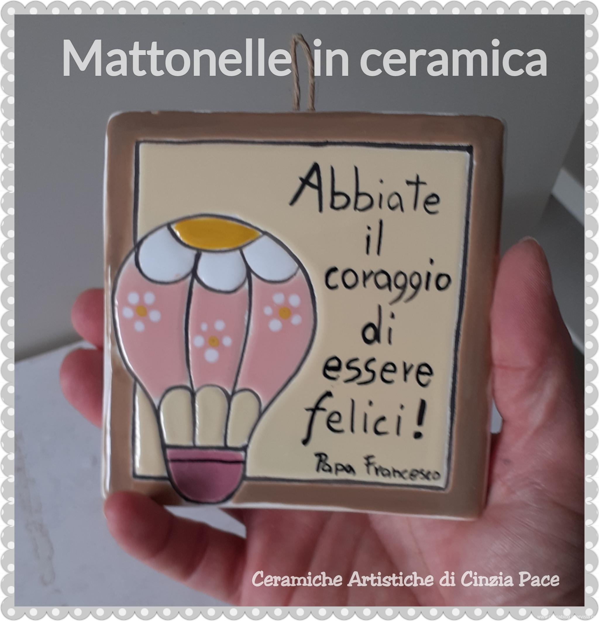 Mattonella bomboniera battesimo