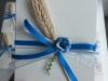confezione azzurra con spiga