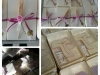confezione cm.15 con spiga e fiore lilla