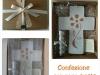 confezione con raso e rete