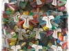 confezione in scatola trasparente esagonale