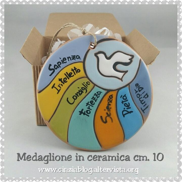 Medaglione cm 10