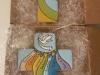 Art. C257 crocifisso cm 25 con sette doni