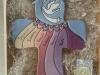 ART. C71  crocifisso spirito santo cm.33