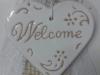 cuore in ceramica tecnica graffito