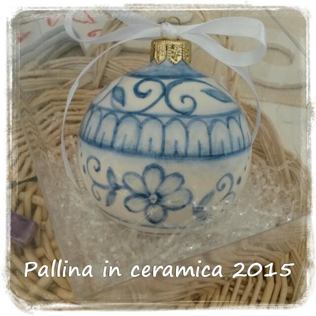 pallina in ceramica 2015
