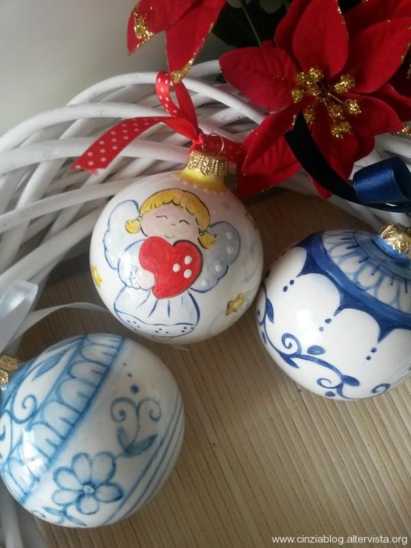 palline in ceramica 2015 cm.8