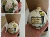 Pallina cm 8 in ceramica personalizzata