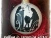 pallina in ceramica cm 8 con natività