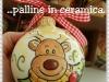 palline di natale con renna
