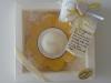 portacandela giallo