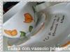 tazza con tulipani