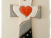 Art CC1 croce con cuore cm 15
